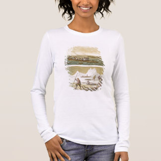 Greenland: Whale fishing and Seal hunting, from 'L Long Sleeve T-Shirt