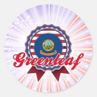 Greenleaf, ID Sticker