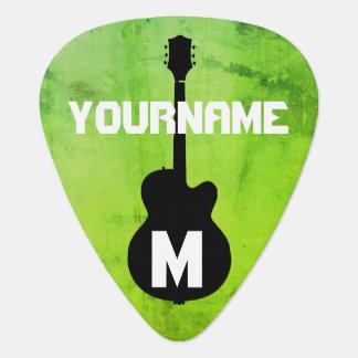 greenleaf, personalized guitar pick