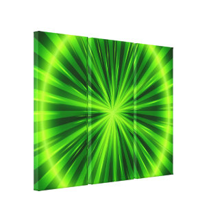 GreenLight Fantasy Art Design Abstract 2 Stretched Canvas Print