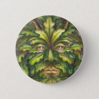 Greenman 6 Cm Round Badge