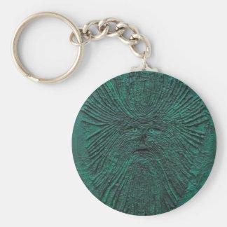 Greenman Key Ring