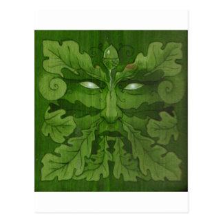 greenman master postcard
