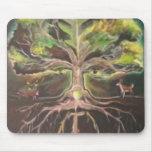 Greenman-tree of life Mousepad - Customised