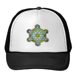 GreenMetatronCube Hats
