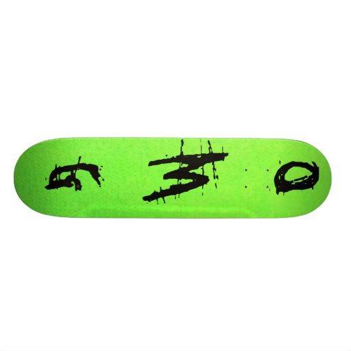greenOMG Skate Decks