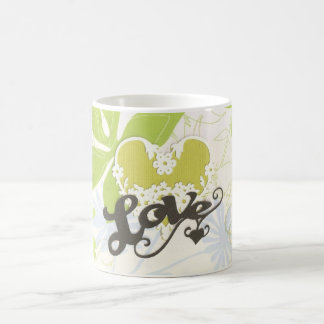 Greenpea Love Coffee Mugs