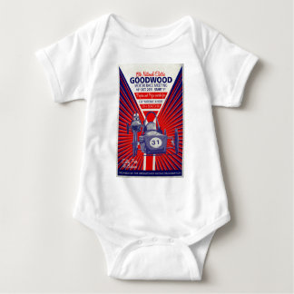 Greenpower National Final Vintage Poster 2011 Baby Bodysuit