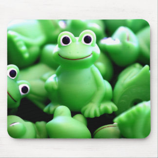 Greens Frogs Mouse Mat