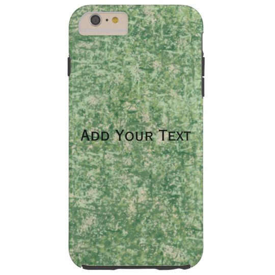 Greens Textured by Shirley Taylor Tough iPhone 6 Plus Case