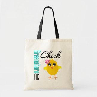 Greensboro NC Chick Budget Tote Bag