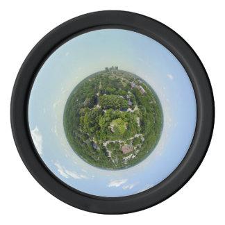 Greensboro Tiny Planet Poker chip