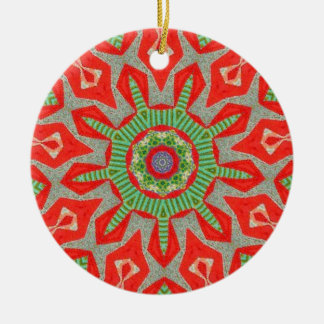 Greensleeves Fractal Christmas Ornament