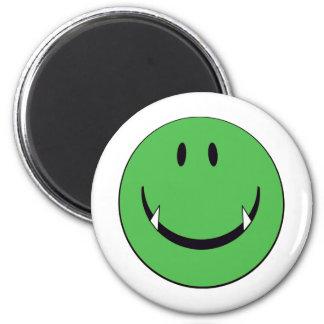greensmiley 6 cm round magnet