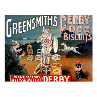 Greensmith's Dog Biscuits Postcard
