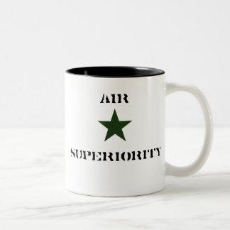 greenstar, AIR, SUPERIORITY Two-Tone Mug