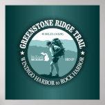 Greenstone Ridge Trail (rd) Poster