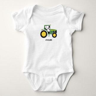 GreenTractor design Apparel Baby Bodysuit