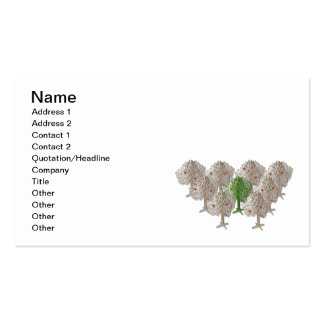 GreenTreeInForest012511, Name, Address 1, Addre... Pack Of Standard Business Cards