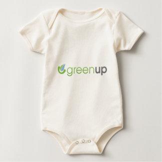 GreenUp Horizontal Logo Baby Bodysuit