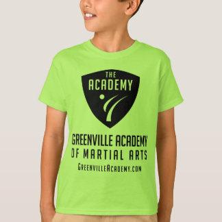 Greenville Academy Black Shield Logo T-Shirt