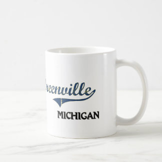 Greenville Michigan City Classic Coffee Mugs