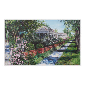 Greenville Mississippi in the Spring Poster