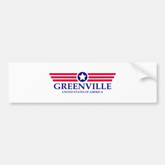 Greenville NC Pride Bumper Sticker