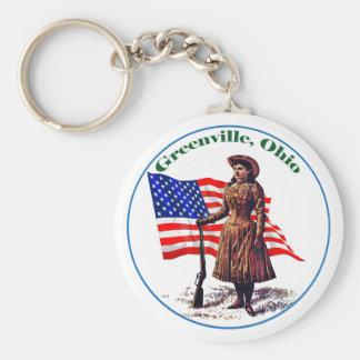 Greenville, Ohio Key Ring
