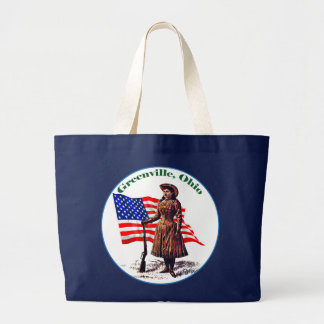 Greenville, Ohio Large Tote Bag