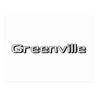 Greenville Post Card