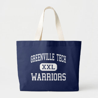Greenville Tech - Warriors - Charter - Greenville Large Tote Bag