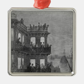 Greenwich in the Season Christmas Ornament