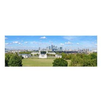 Greenwich London UK Panoramic Print