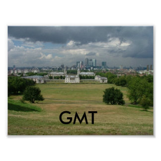 Greenwich Mean Time Poster