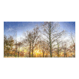 Greenwich Park London Art Custom Photo Card