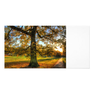 Greenwich Park London Customised Photo Card