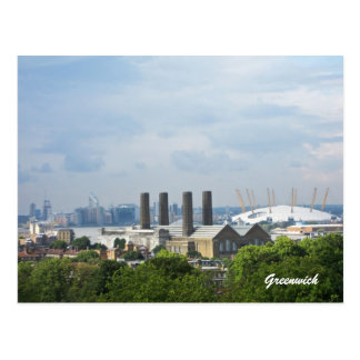 Greenwich View Postcard