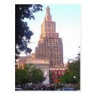 Greenwich Village, arch, postcard
