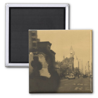 Greenwich Village & Gibson Square Magnet