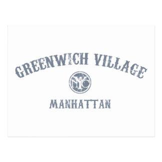 Greenwich Village Postcards