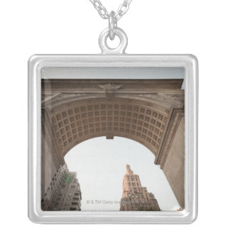 Greenwich Village Silver Plated Necklace