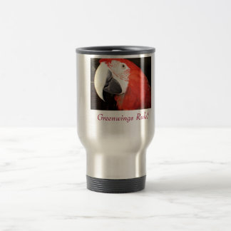 Greenwings Rule Travel Mug