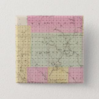 Greenwood County, Kansas 15 Cm Square Badge