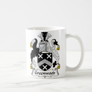 Greenwood Family Crest Coffee Mug