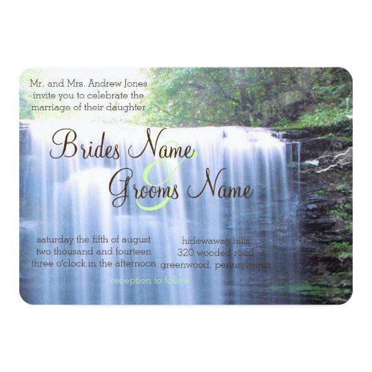Greeny Nature Wedding Card