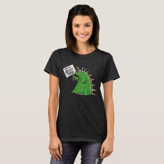 Greep Ladies'T-shirt Dark Background T-Shirt
