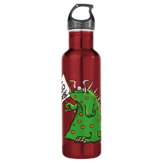 Greep Water Bottle Red