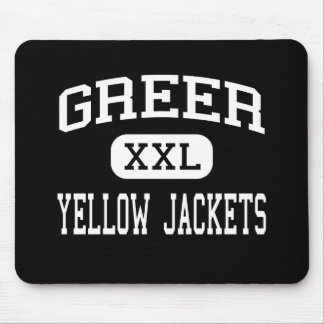 Greer - Yellow Jackets - High - Greer Mouse Pad