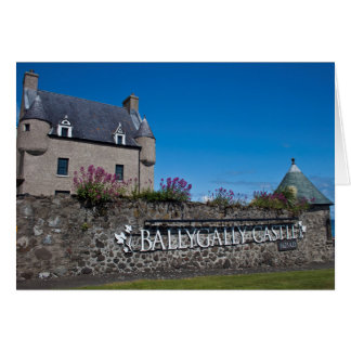 Greeting Card, Ballygally Castle, Northern Ireland Card